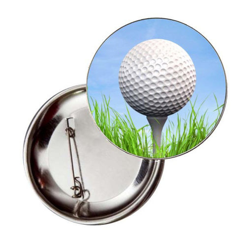 Immagine di BADGE ROTONDO GOLF Ø mm.25 - Art. BS19124