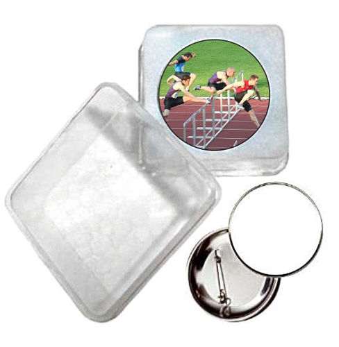 Immagine di BADGE ROTONDO ATLETICA Ø mm.25 - Art. BS19124  CON BOX