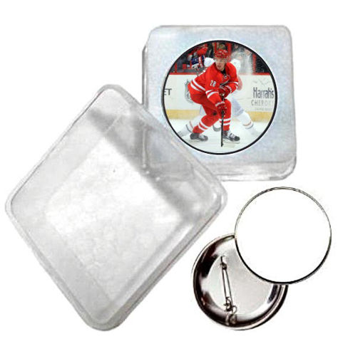 Immagine di BADGE ROTONDO HOCKEY Ø mm.25 - Art. BS19124  CON BOX