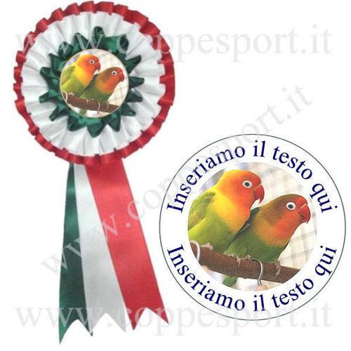 Immagine di COCCARDA ITALIA MAXI - Art. 7415-GWR